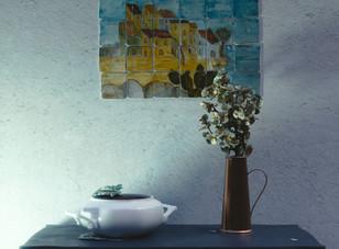 Wall scene in Blender 2.8  + download file
