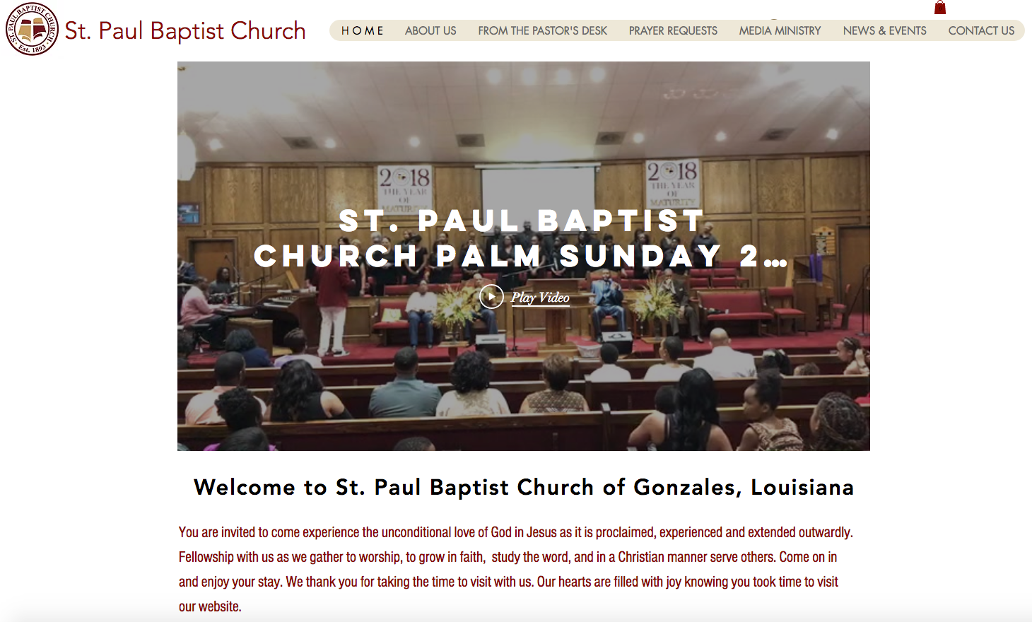 St. Paul Baptist Church Gonzales