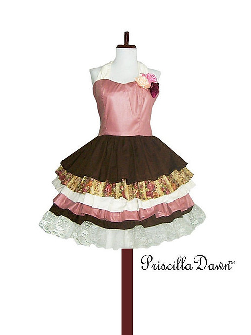Custom Multi Colored and Layered Shortcake Dream Party Dress
