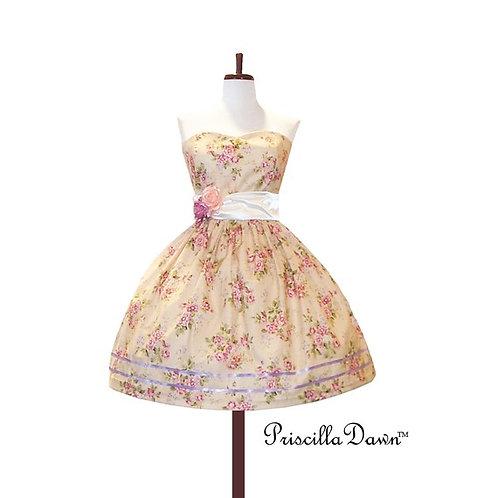 Cream Teaparty Dress
