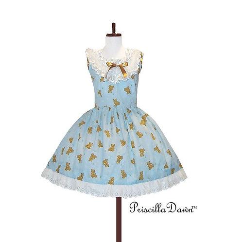 Lolita Teddy Bears Dress in custom fabric