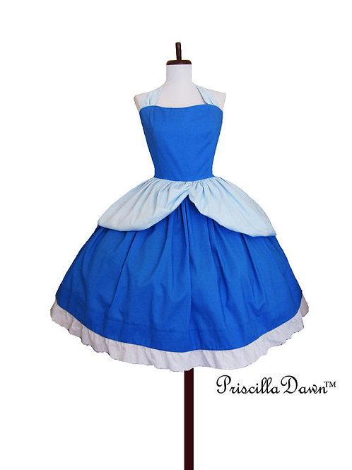 Cindy Rella  Blue Dress