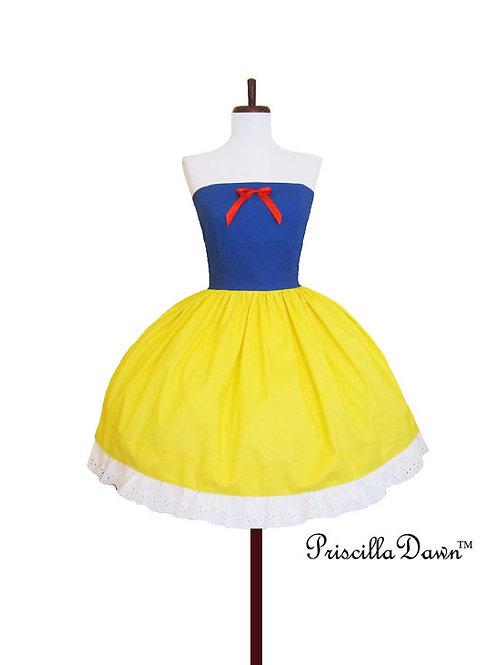 White Snow Princess Dress