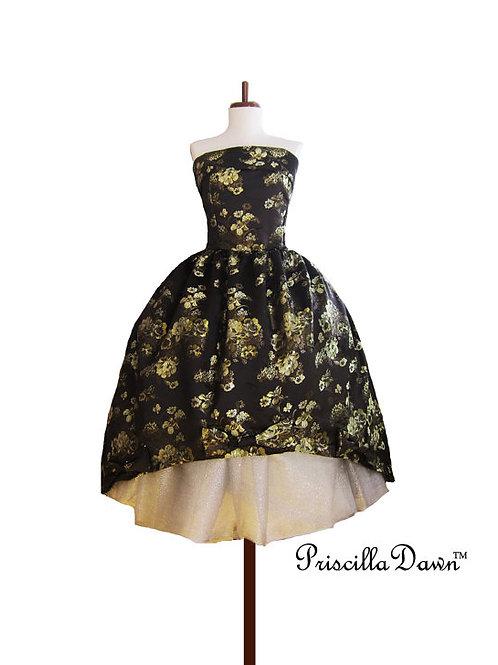 Mascarade Floral Ballgown Evening Dress