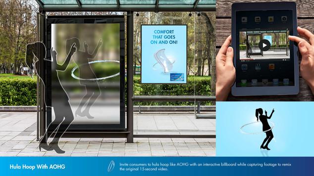 AIR OPTIX PLUS HYDRAGLYDE - OOH interactive ad
