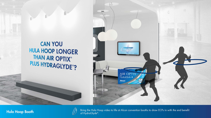 AIR OPTIX PLUS HYDRAGLYDE - Conference experience