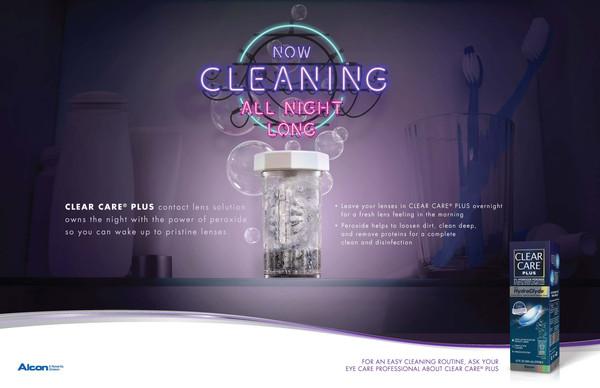 CLEAR CARE PLUS - concept
