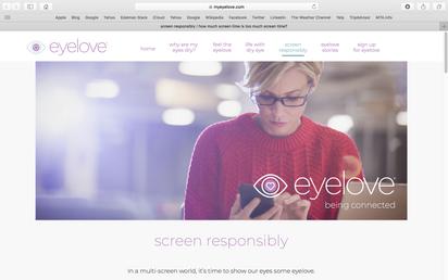 SHIRE EYELOVE WEBSITE