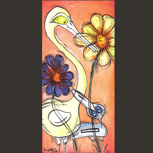 """Original Painting - One For Each 3.5"""" x 6"""""""