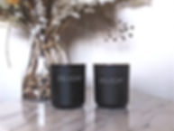 Personalised candles & coconut soy wax wood wick candles Sydney