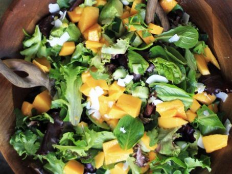 Mango & Coconut Summer Salad