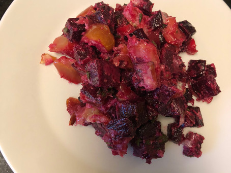 Creamy Beets & Apples (AIP)