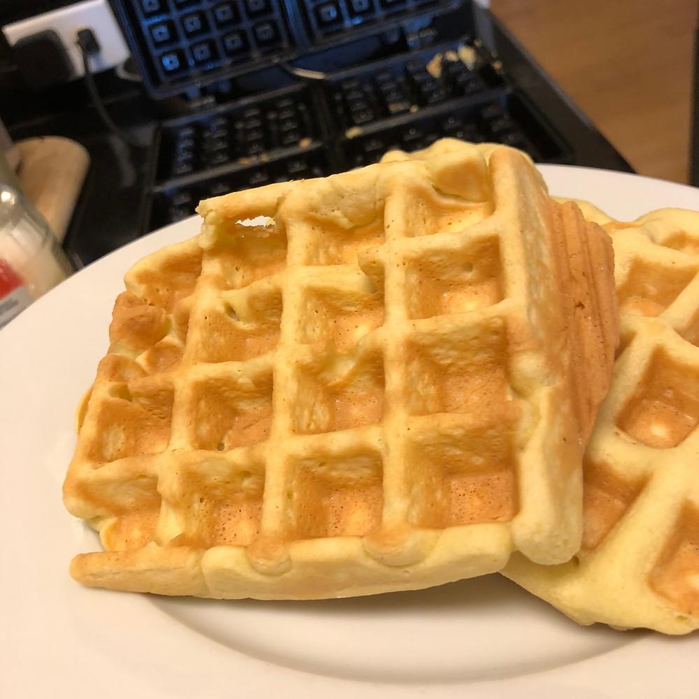 Low Carb Paleo Belgiun Waffle
