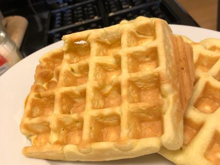 Low Carb Belgium Waffle