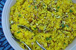 Golden Caulifower Rice, Autoimmune protocol, AIP, Vegetarian, Vegan