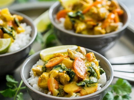 Thai Yellow Chicken Curry