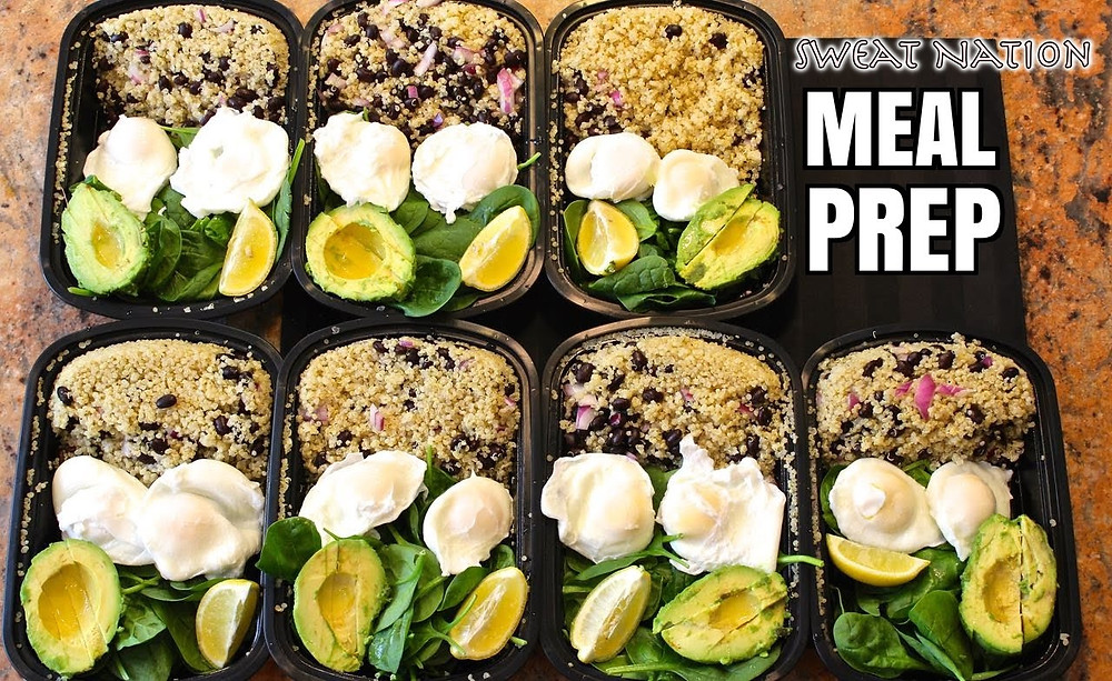 Meal Prep, Mind, body, finances, career, relationships, lifestyle, coaching, Sweat Nation,