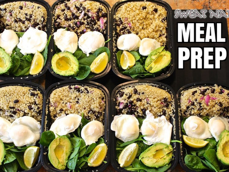 Meal Prep, Optimize Your Time