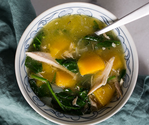 butternut breakfast soup, AIP, autoimmune protocol