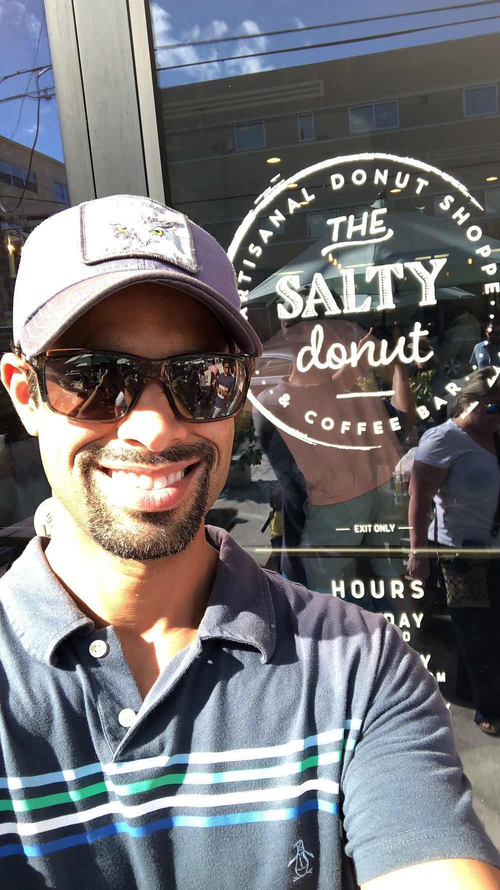 there are some major fat and carbs at the salty donut!