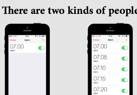 Two Types Of People(Which Are You?)