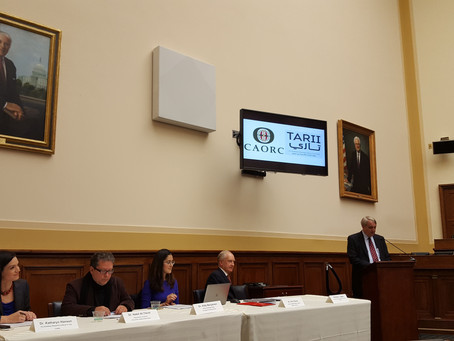 CAORC and TARII Host Discussion of Mosul in D.C.
