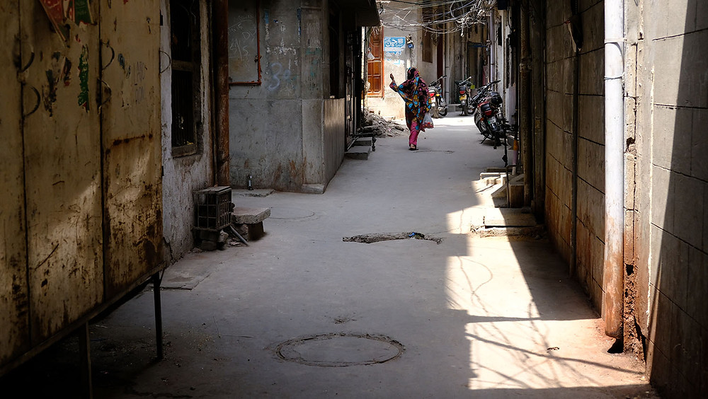 Sidestreet in Lahore