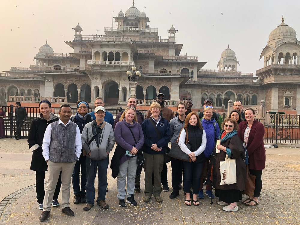 CAORC AIIS India faculty development participants