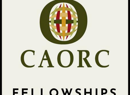 CAORC Announces 2018 Fellowship Recipients