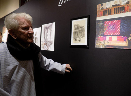 TALIM Celebrates Interior Designer Charles Sevigny's 100th Birthday with Exhibit and Book