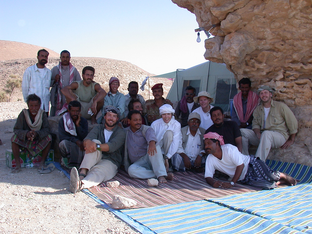 RASA team at Wadi Sana camp