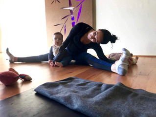 Why Mum's & Bubs yoga classes can be  so beneficial to you & your baby.