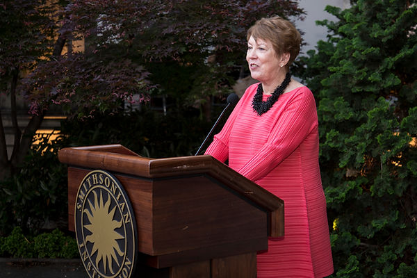 Mary Ellen Lane retirement podium.jpg
