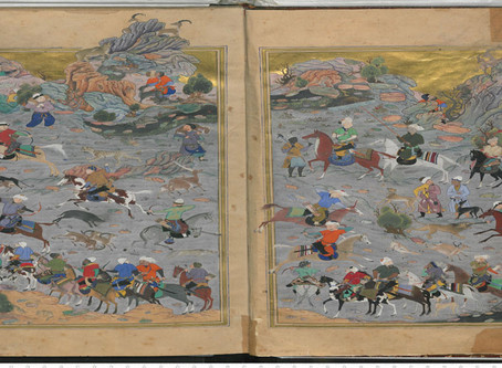 "AIAS Organizes Exhibit of Afghan Paintings: ""Splendors of Medieval Timurid Art of Afghanistan&q"