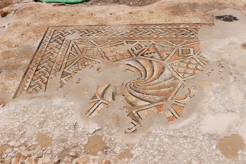 Khirbet et-Tireh Byzantine Church mosaics