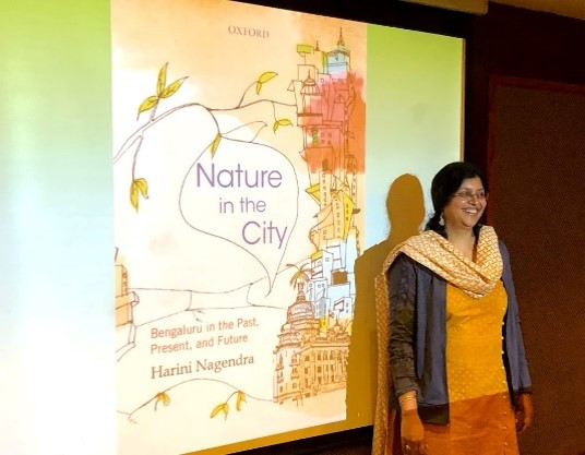 Harini Nagendra speaks about her book Nature in the City