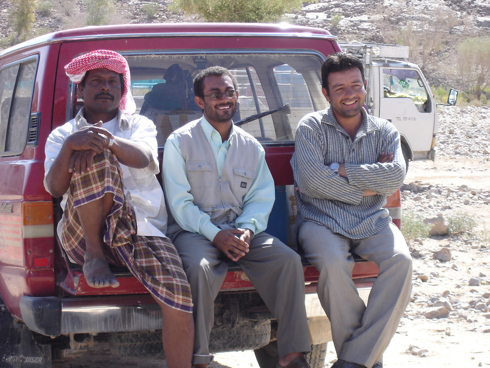ethnographers in Yemen