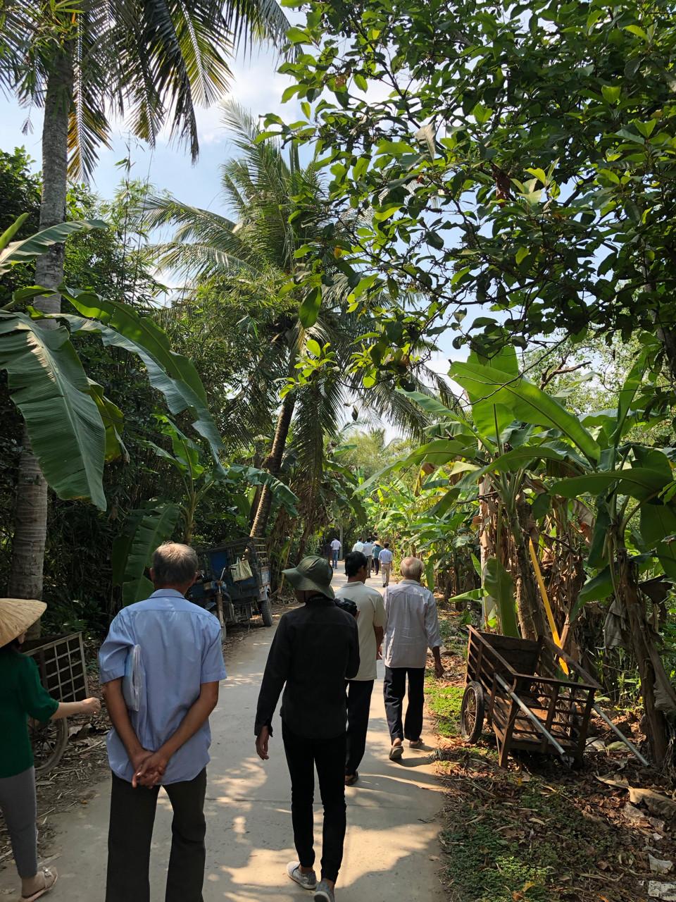 Kimberley Thomas transect walk Viet Nam