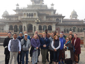 FDS India Group photo in front of Albert
