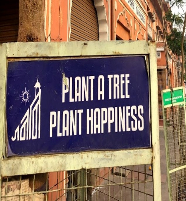 """Plant a Tree, Plant Happiness"""
