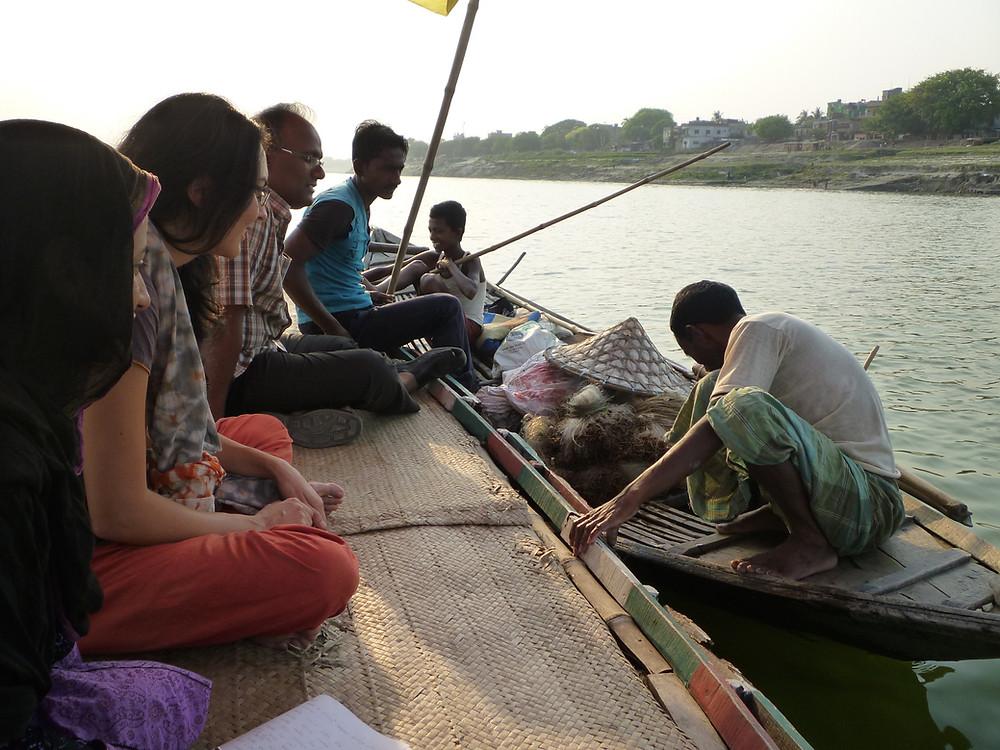 Kimberley Thomas fishermen Bangladesh