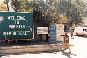 entering Khyber Pass from Afghanistan