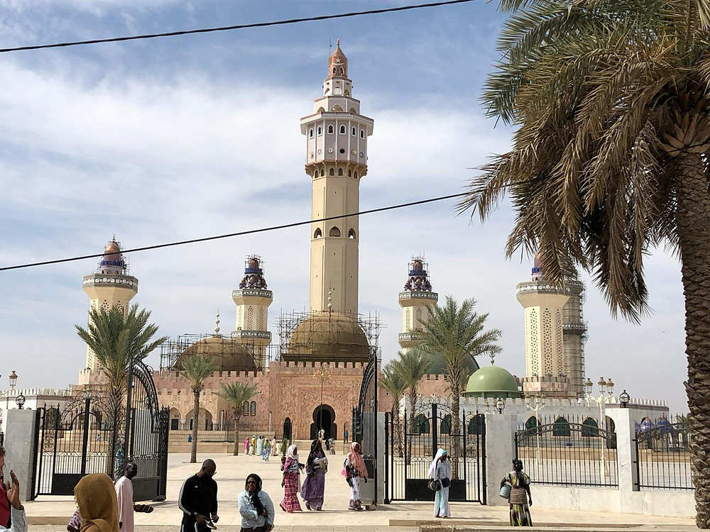 The Great Mosque of Touba in Senegal