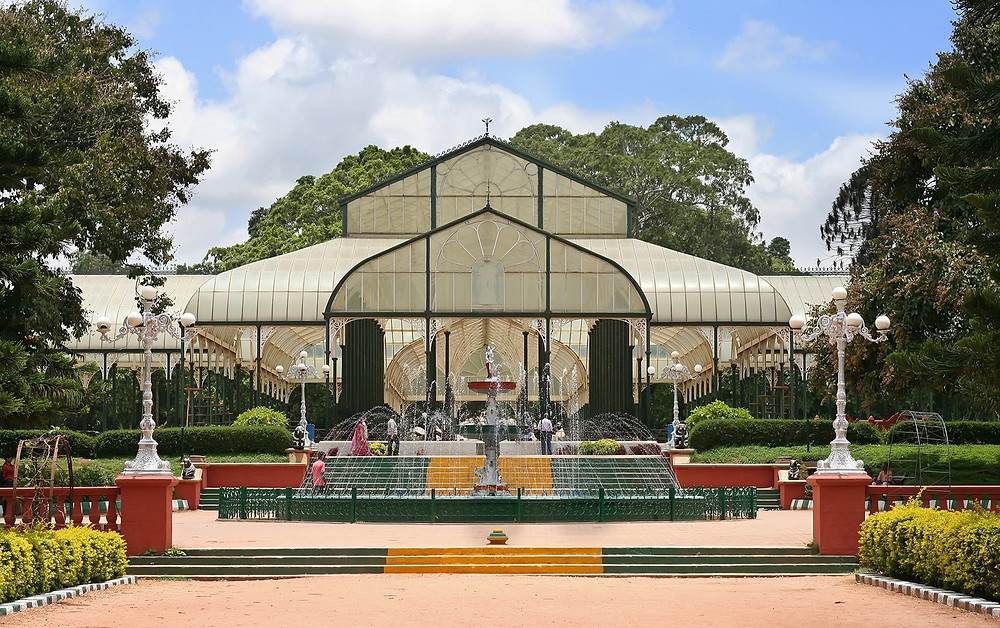 Glass House at Lalbagh Botanical Gardens