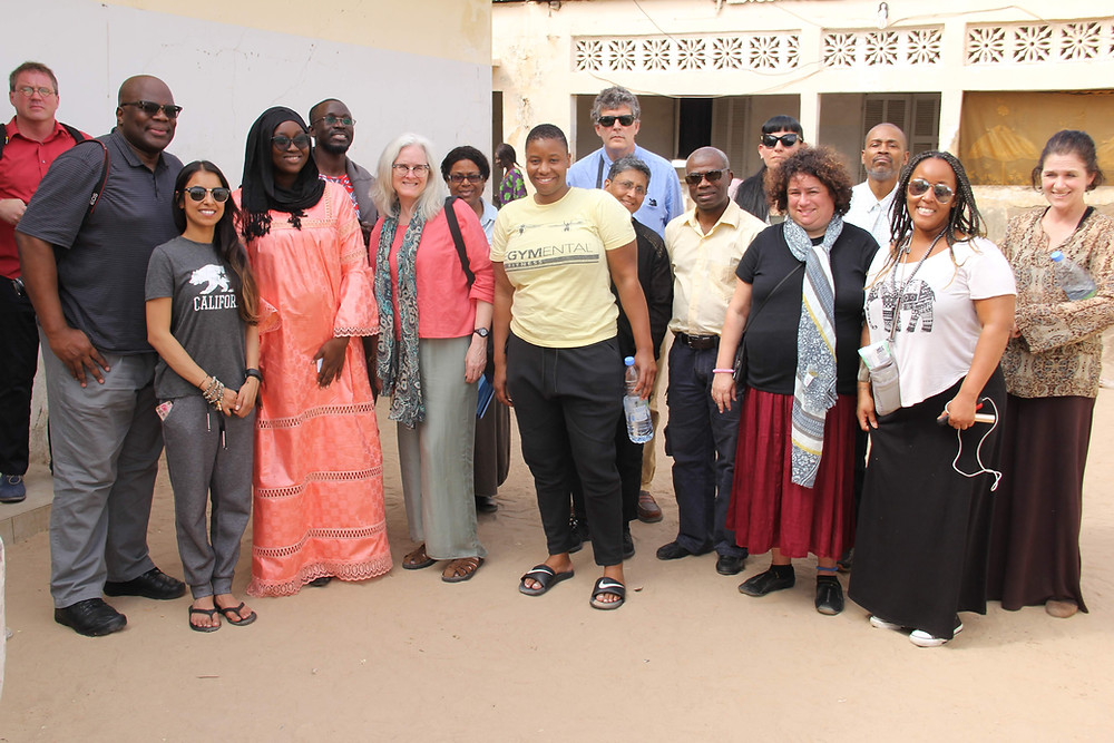 The participants in the 2019 faculty development seminar to Senegal