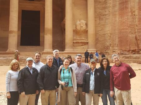 U.S. Congressional Delegation Visits ACOR's Work at Petra