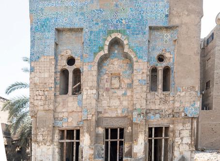 Preserving Cairo's Islamic Tiles: The Al-Darb Al-Ahmar Monuments Project