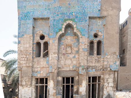 Preserving Cairo's Islamic Tiles: The Al-Darb Al-Ahmar Monuments Project