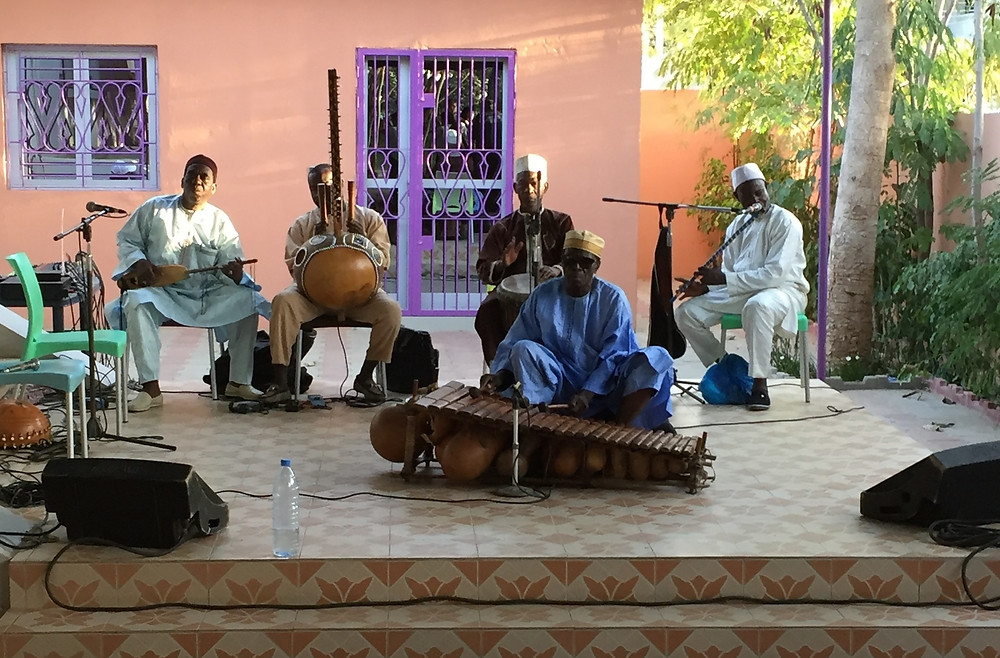 traditional Senegalese music performance