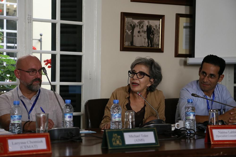 Professor Naima Lahbil